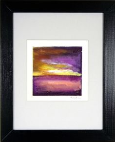 ORIGINAL Abstract Painting on Canvas - Yellow Purple Painting - Fine Art Abstract Expressionism - 11x14 Art  - Original Artwork by Ben Will by benwill on Etsy https://www.etsy.com/listing/222895768/original-abstract-painting-on-canvas