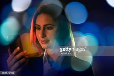 Stock Photo : Smartphone in the City