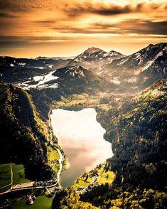 Niederösterreich Werbung в Instagram: «Der Lunzer See eingebettet in die schneebedeckte Mostviertler Landschaft! 🥰 Foto: @pointofviewfoto 📸 #meinniederösterreich…» Seen, Mountains, Nature, Travel, Instagram, Photos, Snow, Woods, Advertising