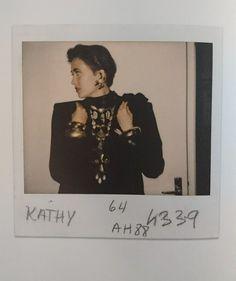Yves Saint Laurent, Polaroid, Balenciaga Dress, 80s And 90s Fashion, Ysl, Fashion Brands, Models, Style, Haute Couture