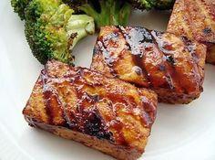 Smoky Grilled Tofu With Hoisin Sauce Recipe