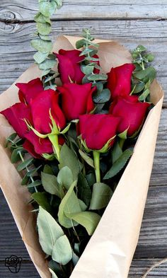 Red Roses from The Bouqs