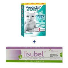 Predictor Test Ovulación Saliva + Lisubel Test Embarazo Alta Sen