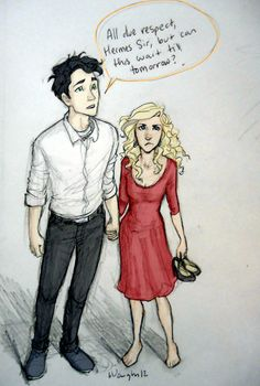 Percy and annabeth Date