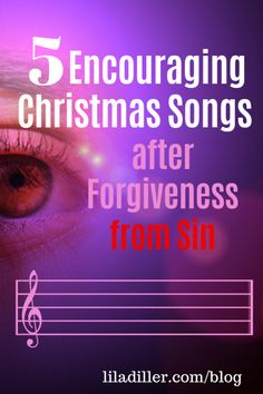 Songs about sin and forgiveness