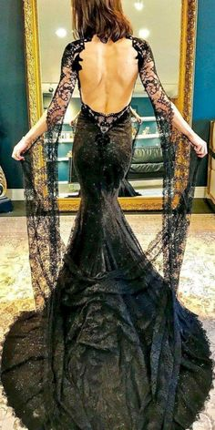 cool 60 Gorgeous Halloween Wedding Dress with Vintage Style  https://viscawedding.com/2017/10/25/60-gorgeous-halloween-wedding-dress-vintage-style/