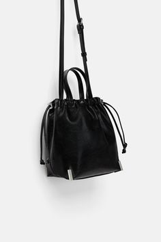 Imagen 3 de SACA FRUNCE de Zara Zara, Drawstring Backpack, Bucket Bag, Leather Bag, Backpacks, Fashion, Purses, Totes, Accessories