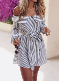 Cute Summer Outfits For Women And Teen Girls Casual Simple Summer Fashion Ideas. Clothes for summer. Summer Styles ideas Trending in Trend Fashion, Look Fashion, Womens Fashion, Fashion Tips, Ladies Fashion, Feminine Fashion, Fashion Ideas, Fashion 2018, Spring Fashion