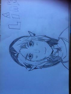 Mooie tekening van Esra