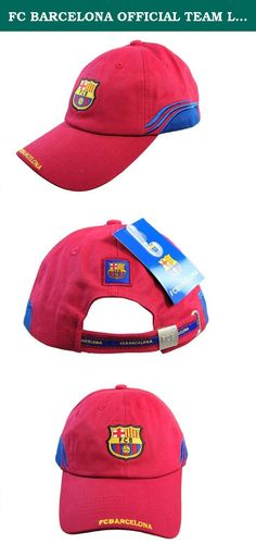 FC BARCELONA OFFICIAL TEAM LOGO CAP   HAT - FCB057. Offical Product  Licensed to Rhinox 2fd4bb15e93