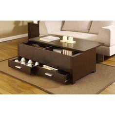 Furniture of America Knox Dark Espresso Storage Box Coffee Table   Overstock.com Shopping - Great Deals on Furniture of America Coffee, Sofa...