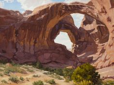 """""""Bones of the Earth"""" 18x24 was featured in the All Arts Steamboat Festival in 2014."""