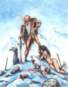 Cohen the Barbarian - A Lifetime in his own Legend by puggdogg.deviantart.com on @deviantART