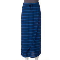 Petite SONOMA Goods for Life™ Faux-Wrap Maxi Skirt