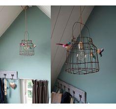 Leuke lamp voor in de babykamer!
