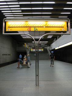 prague metro map at Smíchovské nádraží In Loco, Metro Subway, Metro Map, U Bahn, Metro Station, Famous Landmarks, Natural Scenery, Signage Design, Environmental Graphics