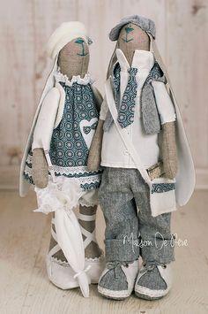 T. Conne rabbit - bunny handmade http://www.maisondereve-pl.blogspot.com/