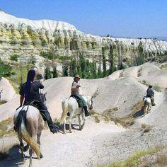 Randonnée à cheval en Cappadoce - Turquie