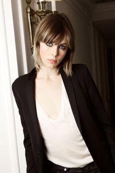 Edie Campbell Interview: Beauty, Hair & Makeup (Vogue.co.uk) | Edie Campbell ahead of #yslbeautynightout, with make-up by Lloyd Simmonds