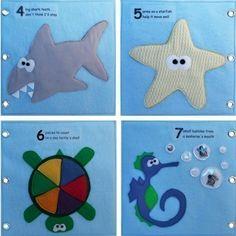 Bajo el mar ePattern para tranquilo libro un niño por CopyCrafts