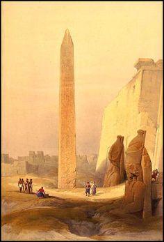 David Roberts - Luxor Temple