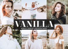 Kostenlose Vanilla Mobile & Desktop Lightroom-Voreinstellung - New Sites Free Photography, Flash Photography, Artistic Photography, Photography Tutorials, Beauty Photography, Inspiring Photography, Creative Photography, Digital Photography, Photoshop Presets Free