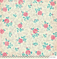 Elizabeth Kate 12X12 Maggie Holmes Paper by Crate Paper - Two Peas in a Bucket
