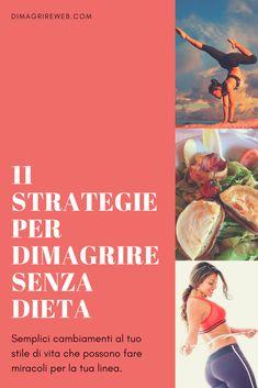 12 modi provati per perdere peso senza dieta