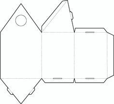 Triangle Box Template No.02 | Free Box Templates Store