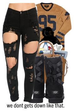 #71 by christianna-futrell ❤ liked on Polyvore featuring Roque and UGG Australia