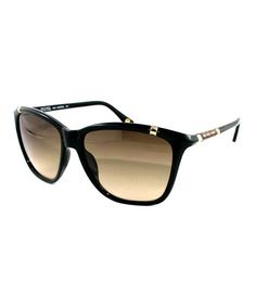 Take a look at this Black Beth Sunglasses by MICHAEL Michael Kors on #zulily today!