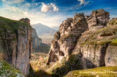 Canyons and Monestary