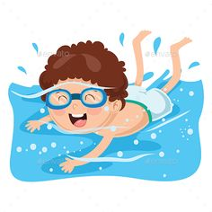 Buy Vector Illustration of Kid Swimming by yusufdemirci on GraphicRiver. Vector Illustration Of Kid Swimming Swimming Cartoon, Swimming Posters, Baby Swimming, Cartoon Clip, Cartoon Kids, Swimming Pictures, Family Tree Worksheet, Kids Background, Kids Stickers