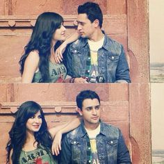 Image via We Heart It https://weheartit.com/entry/151677281 #bollywood #couple #cute #friends #india #katrina #khan #love #pretty #smile #desi #katrinakaif #imran #kaif #imrankhan #merebrotherkidulhan