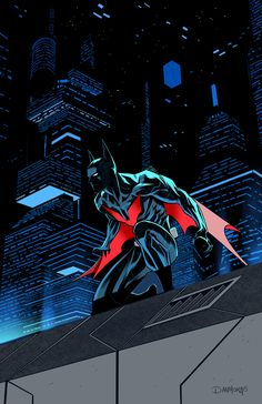 "batmannotes: ""Batman Beyond by Dan Mora """
