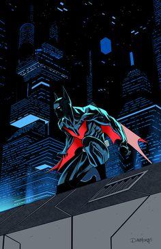 """batmannotes: """"Batman Beyond by Dan Mora """""""