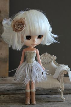 Ensemble De Plumes Collection by Abi Monroe of Taylor Couture, via Flickr