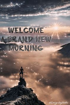DesignByNettis:  ☼ I say WELCOME to a BRAND NEW #morning even tho...