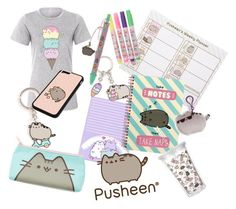 """""""Back To School Pusheen Outfit"""" by violetroselavender ❤ liked on Polyvore featuring Pusheen"""