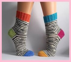 Your marketplace to buy and sell handmade items. Knitting Socks, Hand Knitting, Knitting Patterns, Knit Socks, How To Start Knitting, Knitting For Beginners, Cool Baby, Crochet Slippers, Knit Crochet