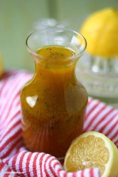 The Best Lemon and Olive Oil Salad Dressing/Marinade