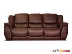 Sofá relax de 3 y 2 plazas modelo Axel fabricado por Losbu en Sofassinfin.es