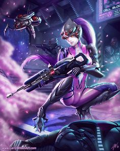 So awesome! Widowmaker - Overwatch
