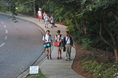 Walk to School Day - Is it Really Green?