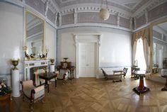 Grand Palais - Intérieur - Pavlovsk - Rez de Chaussée - Salle de Toilette de l'Impératrice - Réalisé par Giacomo Quarenghi en 1800.
