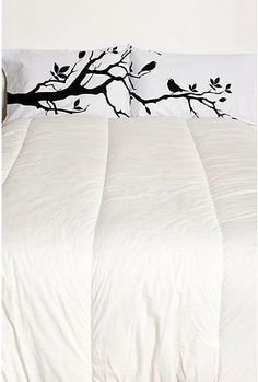 Songbirds pillowcase set from urban outfitters! So cute!