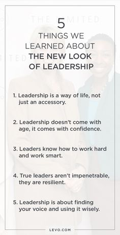 What does leadership look like? We think it looks like you.