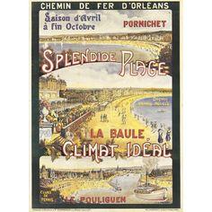 La Baule,Voile,Sail,vintage