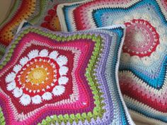 5Pointed Star Pillow PDFPattern by JustDo on Etsy, $5.00