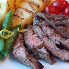 Miso-Glazed Skirt Steak | This slightly asian-inspired sauce make beef ...